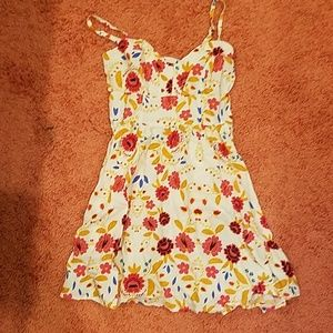 Express Flower Mini Dress.
